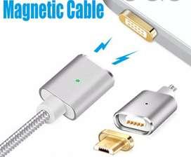 Cable usb magnético de carga y datos 2.4A Nuevo