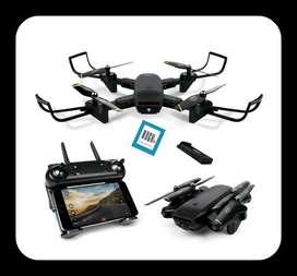 Dron WiFi Doble Cámara Full HD 960p 2 Mpx Optical Led