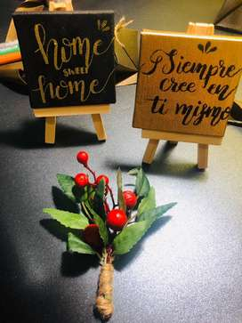 Mini canvas cpn lettering regalos