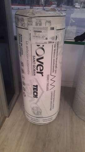 Lana De Vidrio ISOVERTECH Plata Con Aluminio 50mm 21,6 M2