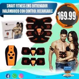 Smart Fitness Ems Entrenador Inalambrico Con Control Recarga