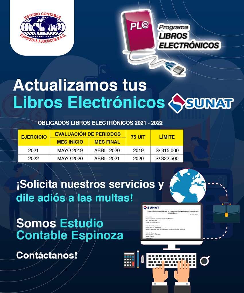 CONTADOR , LIBROS ELECTRONICOS 0