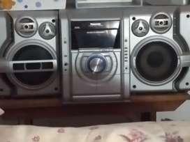 Vendo equipo de musica Panasonic