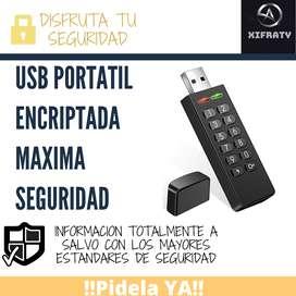 USB Encriptada Maxima Seguridad