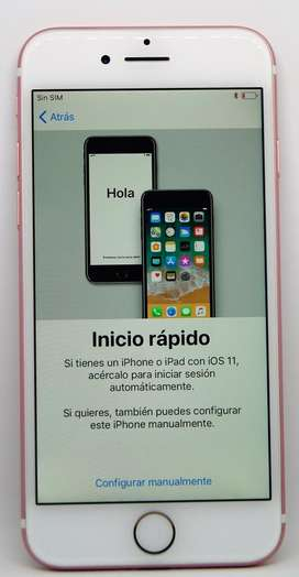 Iphone 7 128GB Rosado 9/10 Liberado