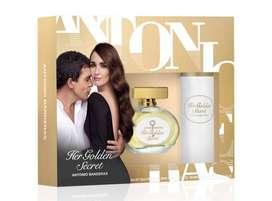 Estuche Antonio Banderas Her Golden Secret 80ml Mujer Eros
