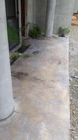 Mantenimiento, cristalización de pisos