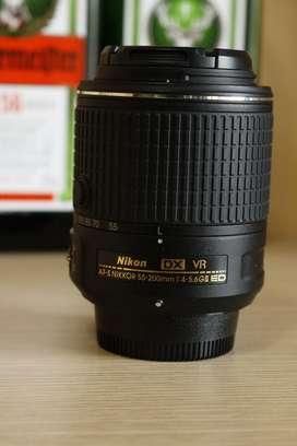Nikon Lens 55 200 Vr Ed Gii Zoom