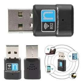 Adaptador Antena Wifi Usb 300mbps Mini 2.4ghz