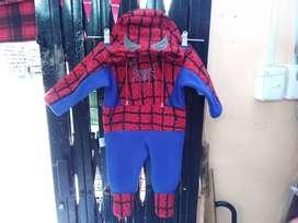 Pijamas Térmicas (Superman, Batman, Spiderman, Mickey, Pooh) Entre Otros