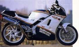 Honda VFR 400 manual taller despiece