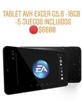 Tablet  Excer  -16gb -Android-5 Juegos- - NUEVA