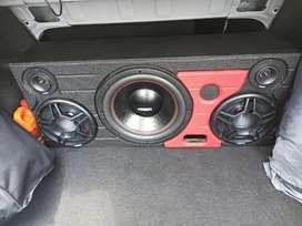 Caja de Sonido para Carro Profesional