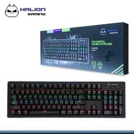 teclado mecanico gamer halion ha-k935