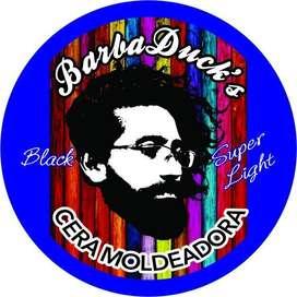 Cera Barbaducks Negra Light Tratamiento Barba Crece Natural