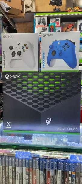 Xbox serie x con factura y garantía