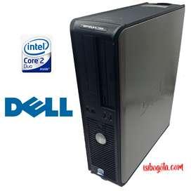 Torre corporativa DELL Core2Duo 500GB 4RAM Original