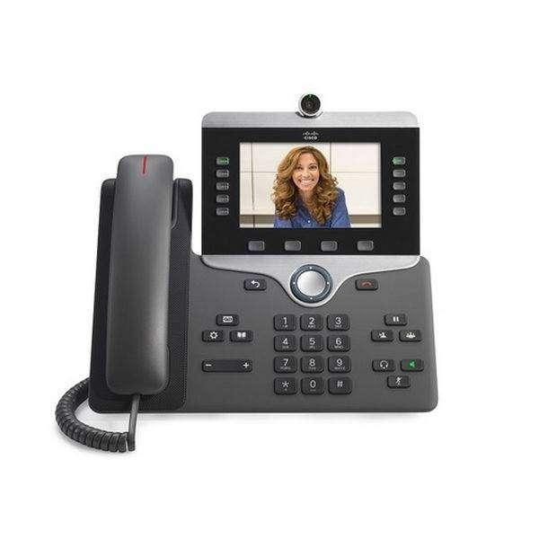 Entrega Inmediata Telefono Ip Cisco Cp8845 Video Llamada 0