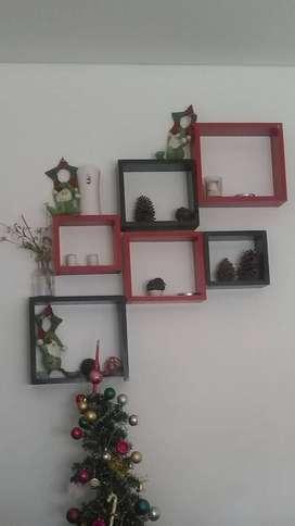 Cubos decorativos melamina