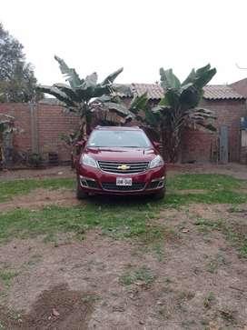 Camioneta Chevrolet traverse americano año 2015 modelo 2016