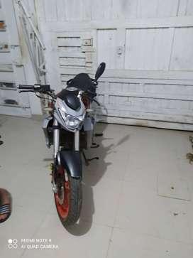 Se vende motocicleta marca JETTOR modelo GP 160 E3.
