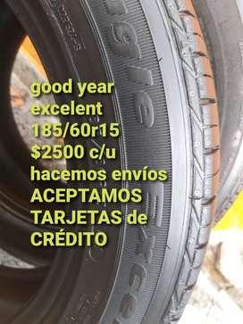 Neumaticos good year excelent 185/60r15