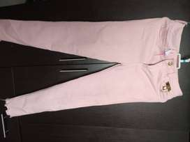 46 Pantalon Rosa Talla 12