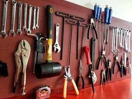 Equipo de herramientas para taller de motos