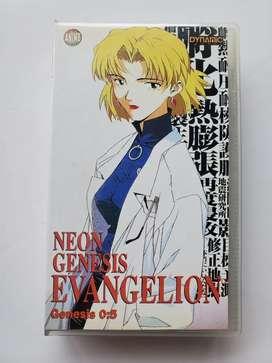Vhs Neón Génesis Evangelion Génesis 0:5 Anime Japones 13 14 15