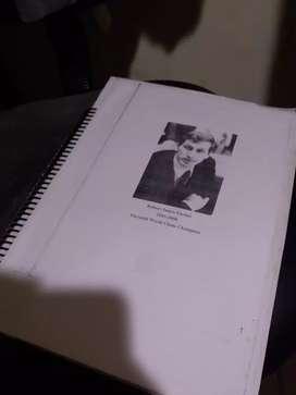 Libro de todas las partidas de Bobby fischer