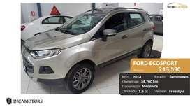 FORD ECOSPORT Freestyle 1.6cc año 2014