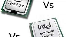 procesador dual core /core 2 duo