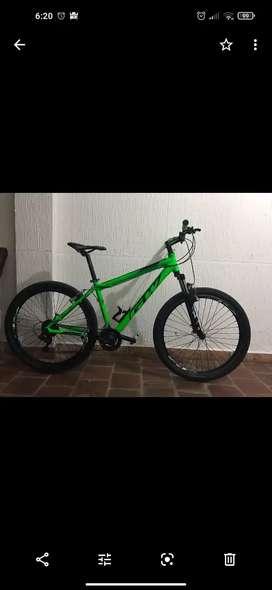 Bicicleta he verde