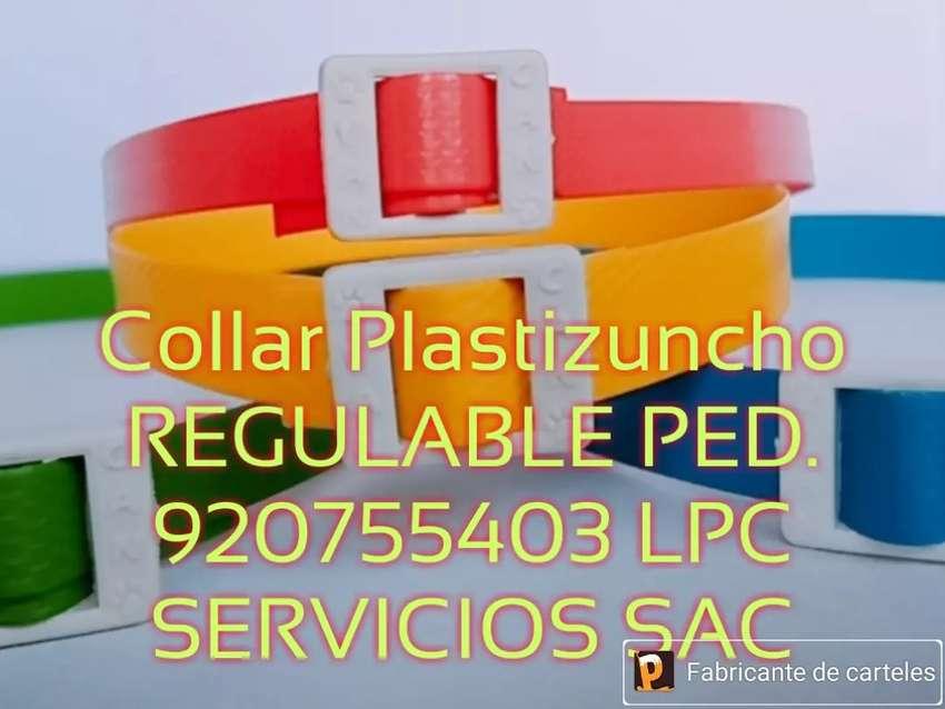 Collares VAN CAN PLASTIZUNCHO REGULABLE LPC DISEÑOS Y COLORES 0