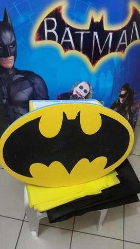 Vendo para fiesta de Batman - Menaje