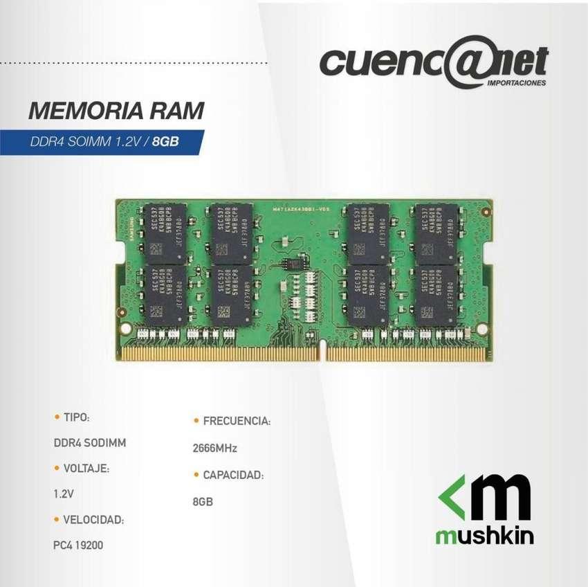 Memoria Ram Ddr4 Sodimm 1.2V 8Gb Mushkin 0