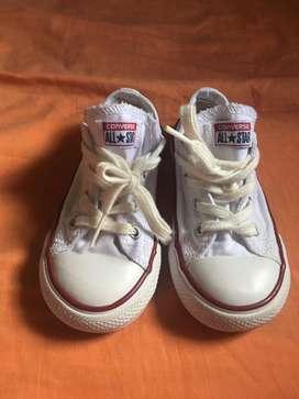 Zapatos converse de niño-niña talla 8(24)