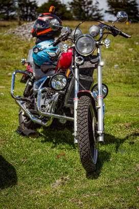 Moto Kawasaki ltd 500