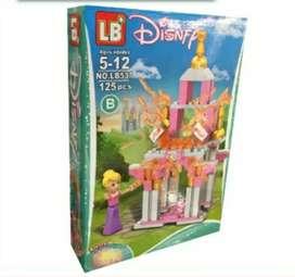Castillo de lego,125 piezas