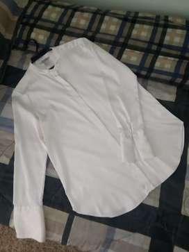 Blusa satinada