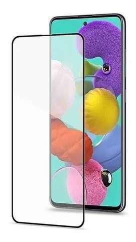 Vidrio templado Glass Full Cover A51 p/ Samsung cubre Bordes