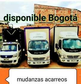 Mudanzas Acarreos Trasteos Bogotá