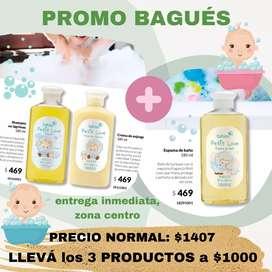 Bebés,  productos Bagués para el baño