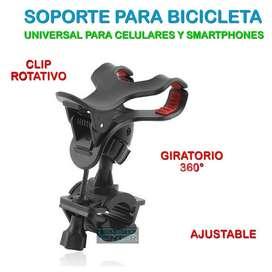 Soporte Celular O Gps Universal Para Bicicleta Moto Samsung Iphone Motorola LG Tribunales