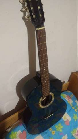 Guitarra M2 color negra