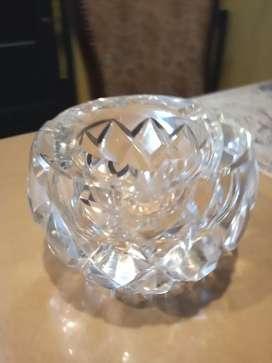 Cenicero antiguo de cristal ...