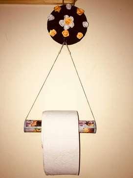 papelera de baño.