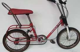 Bicicleta Monareta Roja - Rin 16