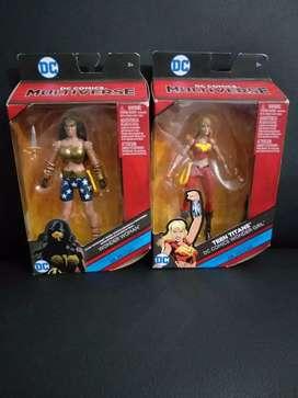 Figuras de acción WONDER WOMAN Y TEEN TITANS