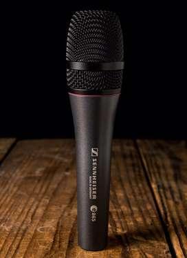 Microfono sennheiser e865 condensador